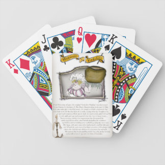 we love yorkshire pudding history bicycle playing cards
