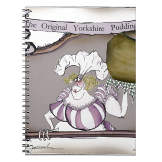 we love yorkshire puddings spiral notebook
