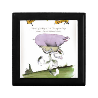 we love yorkshire up'ill pig race gift box
