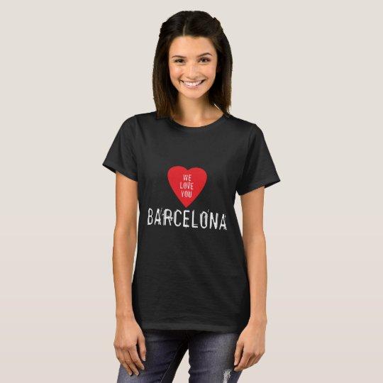 We love you Barcelona T-Shirt