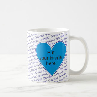 We love you Grandad - personalize with photo Coffee Mug