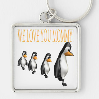 We Love You Mommy Keychain
