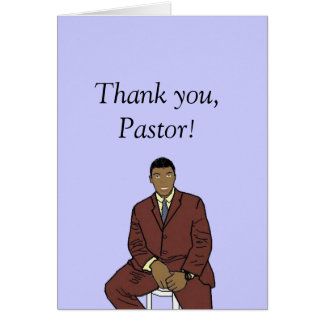 We love you Pastor Greeting Card