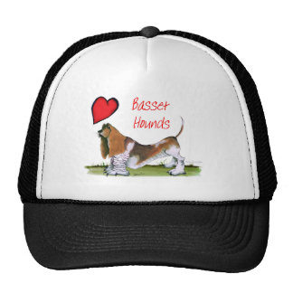 we luv basset hounds from tony fernandes cap
