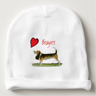 we luv beagles from tony fernandes baby beanie