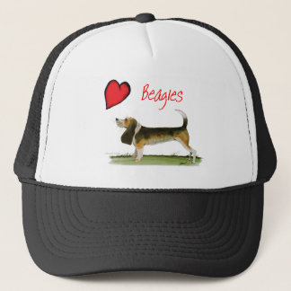 we luv beagles from tony fernandes trucker hat