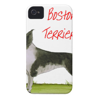 we luv boston terriers from tony fernandes iPhone 4 Case-Mate case