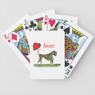 we luv boxers from tony fernandes bicycle playing cards
