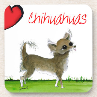 we luv chihuahuas from tony fernandes coaster