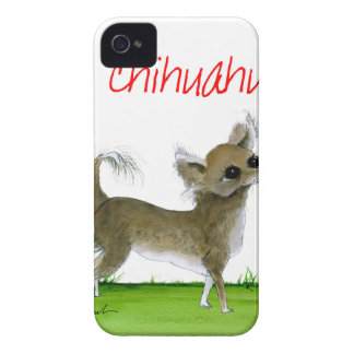 we luv chihuahuas from tony fernandes iPhone 4 cover