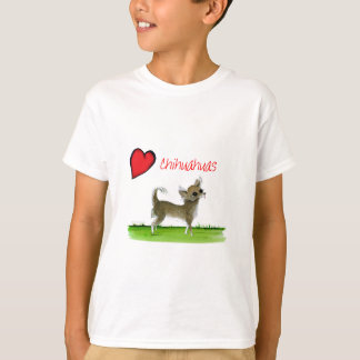we luv chihuahuas from tony fernandes T-Shirt