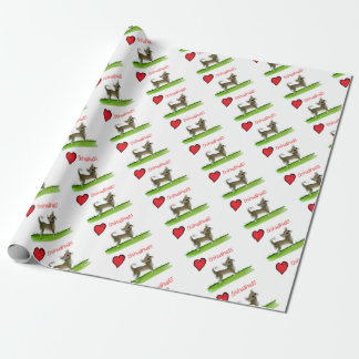 we luv chihuahuas from tony fernandes wrapping paper