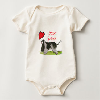 we luv cocker spaniels from tony fernandes baby bodysuit