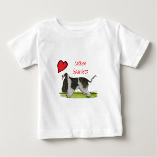 we luv cocker spaniels from tony fernandes baby T-Shirt