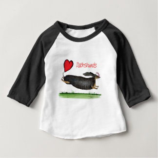 we luv dachshunds from Tony Fernandes Baby T-Shirt