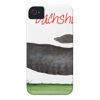 we luv dachshunds from Tony Fernandes iPhone 4 Cover