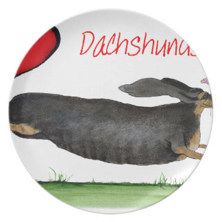 we luv dachshunds from Tony Fernandes Plate