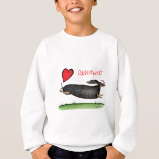 we luv dachshunds from Tony Fernandes Sweatshirt
