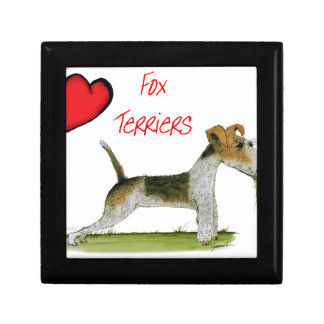we luv fox terriers from Tony Fernandes Gift Box