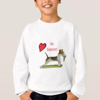 we luv fox terriers from Tony Fernandes Sweatshirt