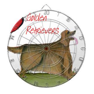 we luv golden retrievers from Tony Fernandes Dartboard