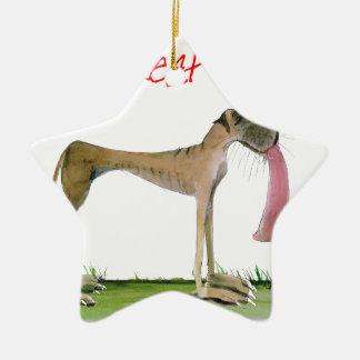 we luv great danes from Tony Fernandes Ceramic Star Decoration
