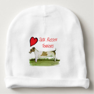 we luv jack russell terriers from Tony Fernandes Baby Beanie