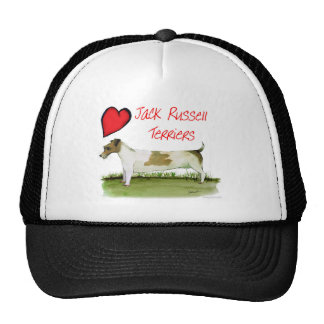 we luv jack russell terriers from Tony Fernandes Cap