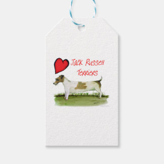 we luv jack russell terriers from Tony Fernandes Gift Tags