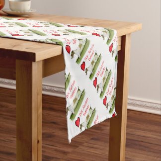 we luv jack russell terriers from Tony Fernandes Short Table Runner