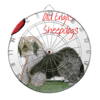 we luv old english sheepdogs, Tony Fernandes Dartboard