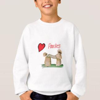 we luv poodles from Tony Fernandes Sweatshirt