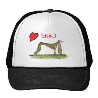 we luv salukis from Tony Fernandes Cap