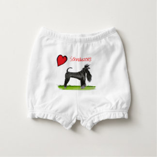 we luv schnauzers from tony fernandes nappy cover