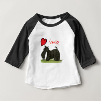 we luv scotties from Tony Fernandes Baby T-Shirt