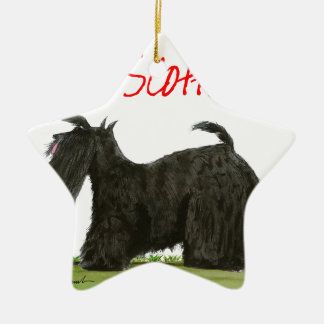 we luv scotties from Tony Fernandes Ceramic Star Decoration