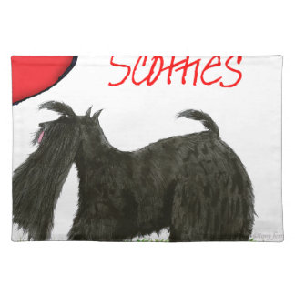 we luv scotties from Tony Fernandes Placemat