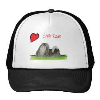we luv shih tzus from Tony Fernandes Cap