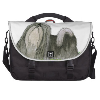 we luv shih tzus from Tony Fernandes Laptop Bags