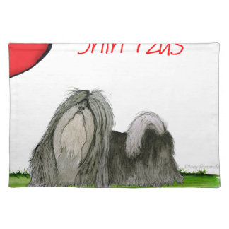 we luv shih tzus from Tony Fernandes Placemat