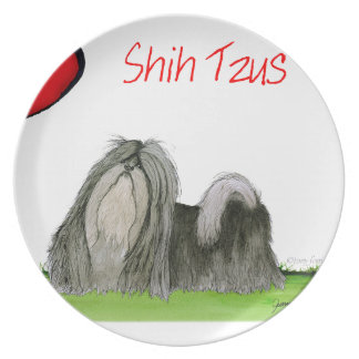 we luv shih tzus from Tony Fernandes Plate