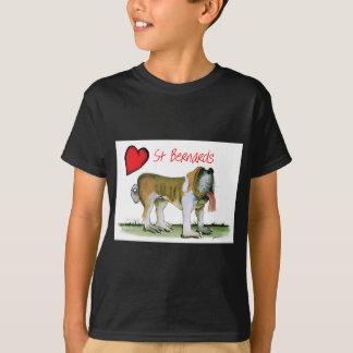 we luv st bernards from Tony Fernandes T-Shirt