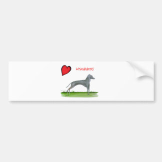 we luv weimaraners from Tony Fernandes Bumper Sticker