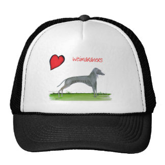 we luv weimaraners from Tony Fernandes Cap
