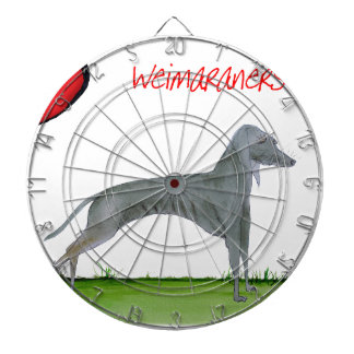 we luv weimaraners from Tony Fernandes Dartboards