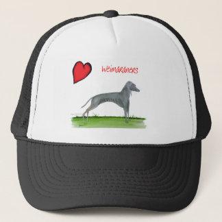 we luv weimaraners from Tony Fernandes Trucker Hat