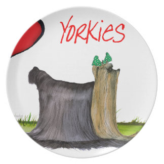 we luv yorkies from Tony Fernandes Plate