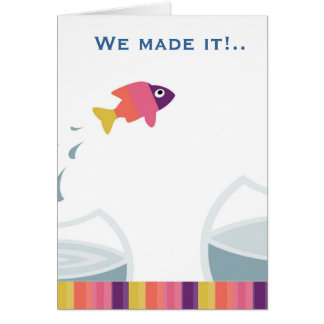 We made it greeting card