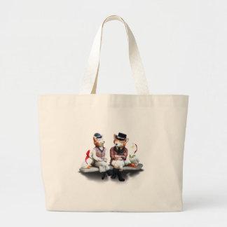 We Make A Foxy Couple! Jumbo Tote Bag
