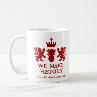 We Make History Coffee Mug